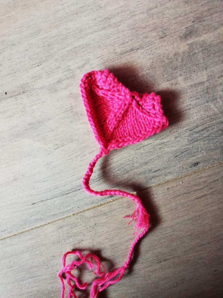 idees pour un marque page au tricot