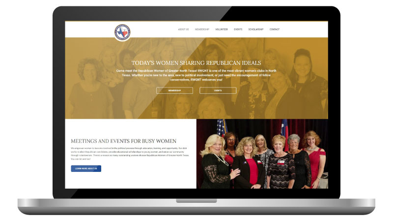 Republican Women's Website Design