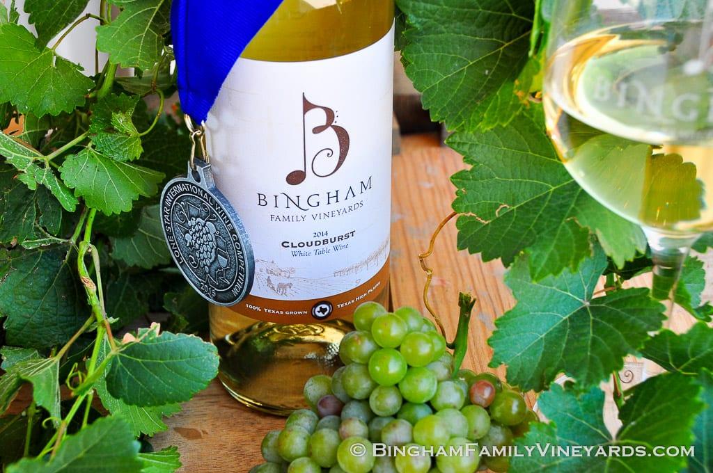 Bingham Cloudburst white wine