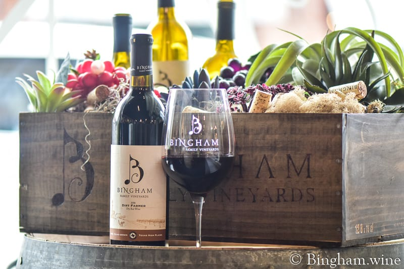 2016 Dirt Farmer for our April Wine Club