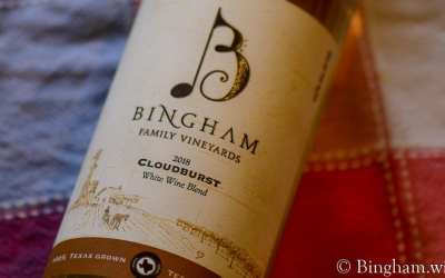White Wine Monthly Club Wine – 2018 Cloudburst