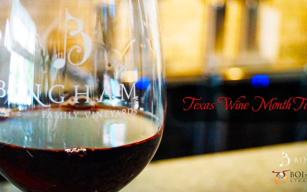 Texas Wine Month Tasting at Boi Na Braza Steak & Grill