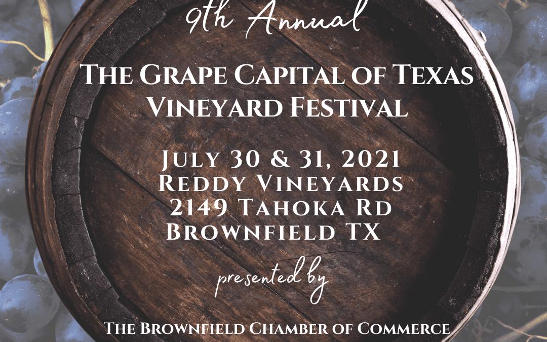 9th Annual The Grape Capital of Texas Wine Festival