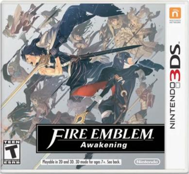 Official cover for Fire Emblem.
