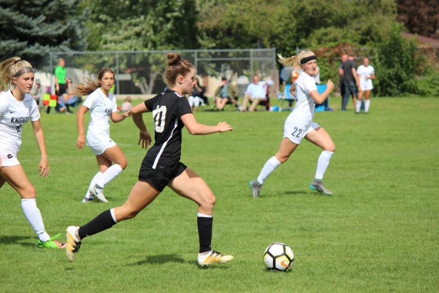 The Camaraderie of Bingham's Girls Soccer Team