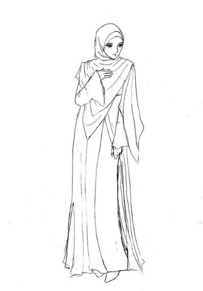 Gambar Kartun Wajah Perempuan