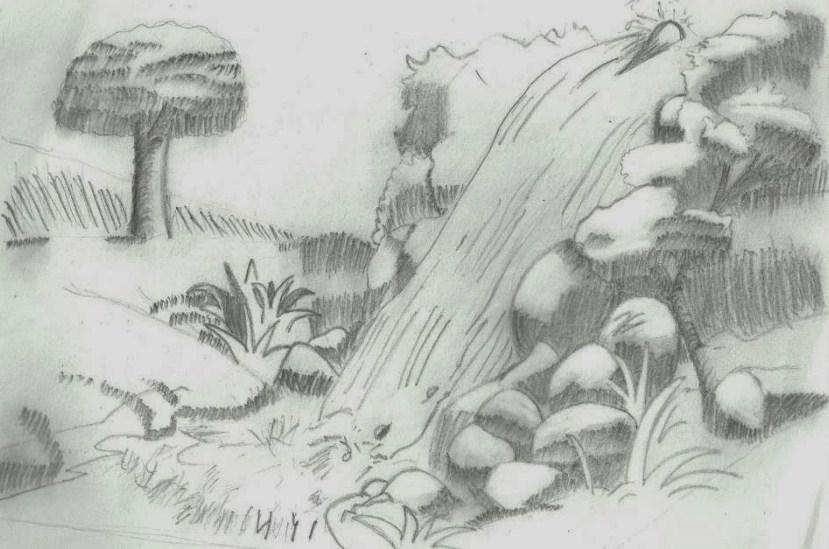 101+ Gambar Air Terjun Pensil Kekinian