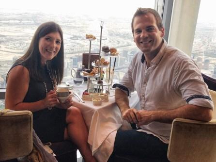 Burj Khalifa afternoon tea