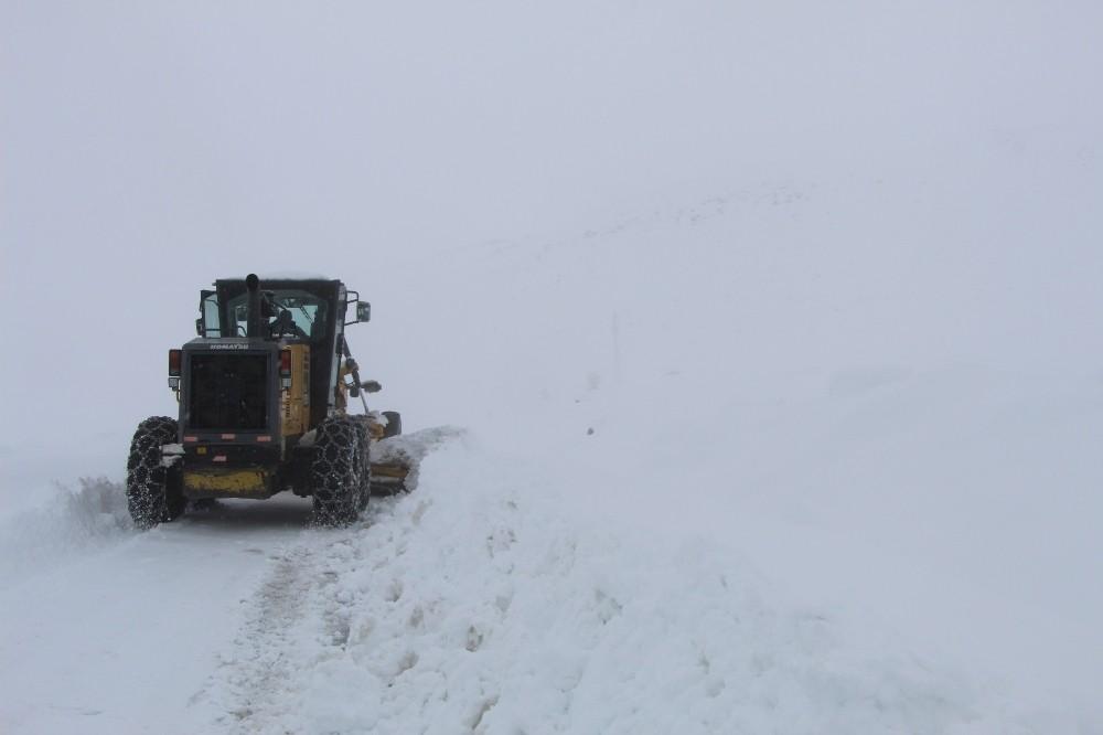 Bingöl'de karla kapanan 67 köy yolu ulaşıma açıldı