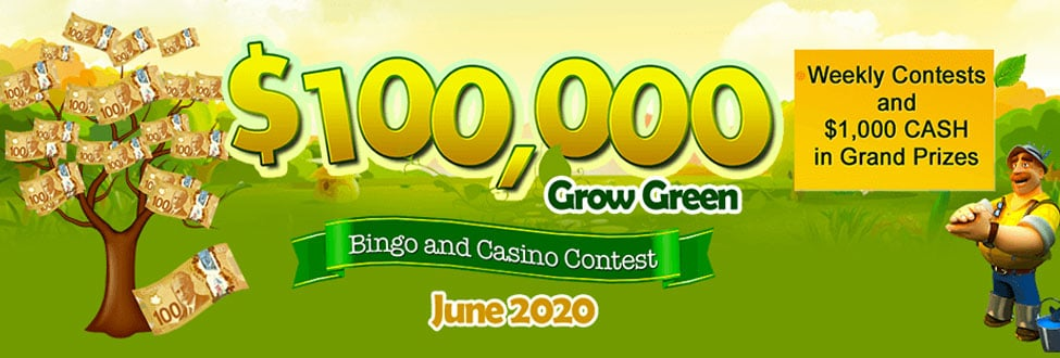 Candian Bingo Green Promotions