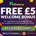mfortune casino welcome bonus new