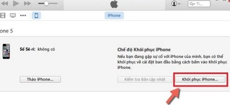 """Sửa lỗi iphone """"is disabled connect to itunes"""""""