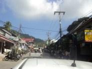 Ko Tao - Aussicht von der Ladefläche des Taxis