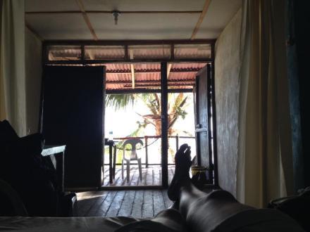 Aussicht aus meinem Zimmer auf Siquijor