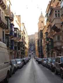 Valetta - Straße - Malta