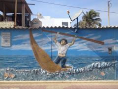 Fischer auf dem Meer
