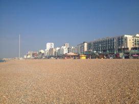 Kieselstrand in Brighton