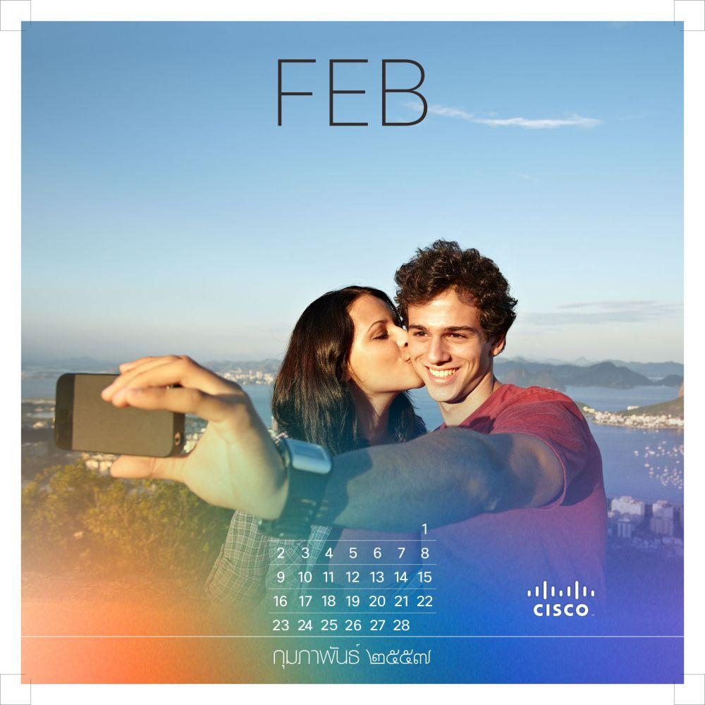 Cisco Calendar 2014 (3/6)