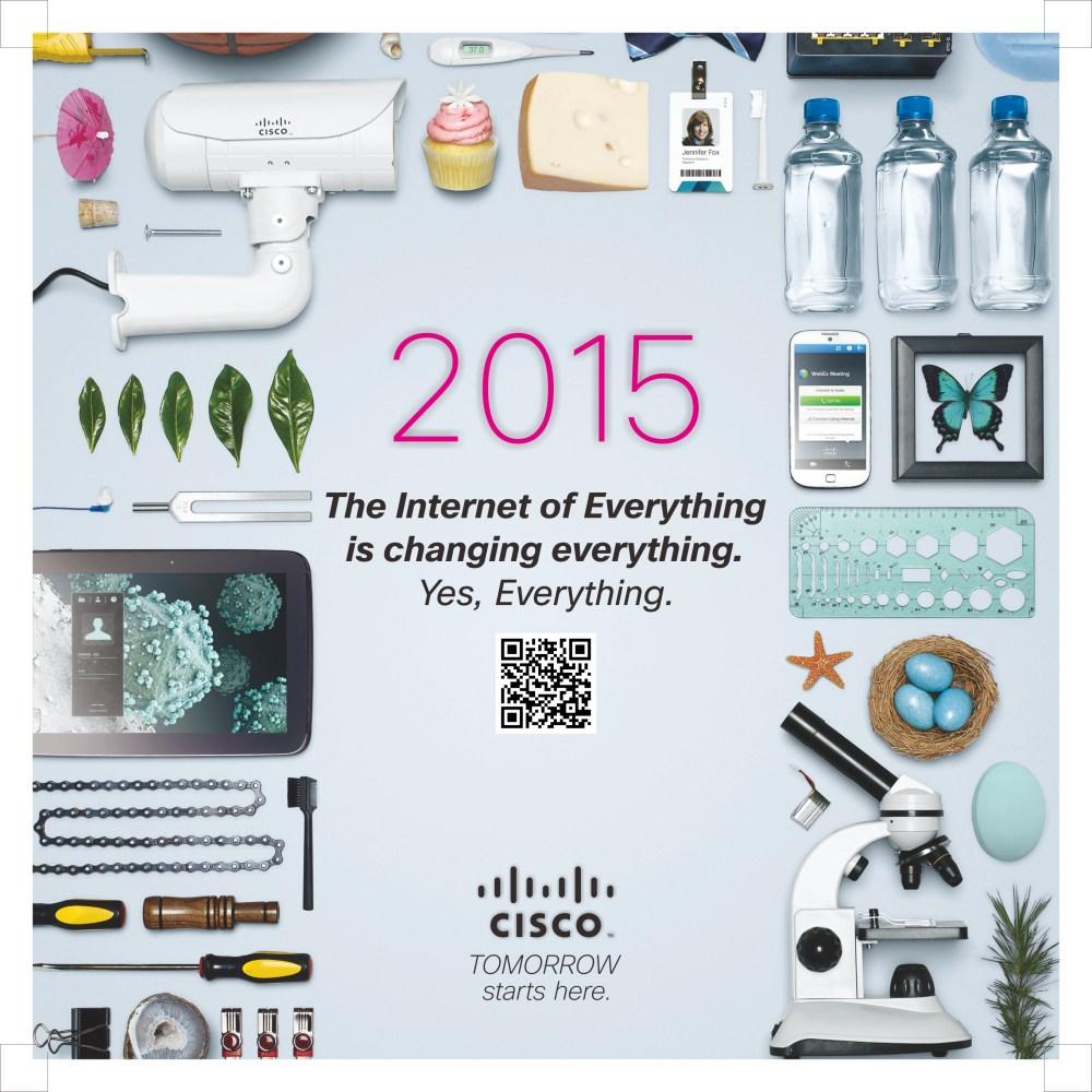 ปฏิทินตั้งโต๊ะ ของ ซิสโก้ประเทศไทย พศ. 2558 (Cisco Systems Thailand Calendar 2015) (1/6)
