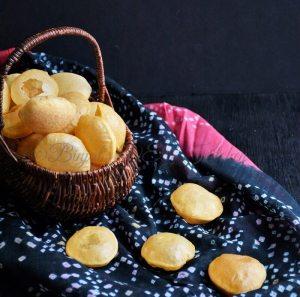 Homemade Chaat Puri