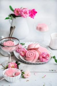 Rose Panna Cotta