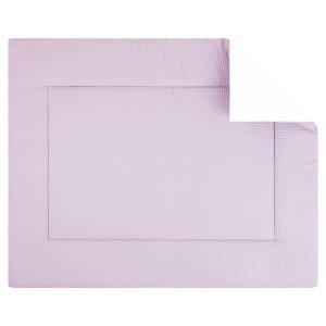 Boxkleed pique wafel roze. Mooi speelkleed van zacht wafelkatoen in roze. Standaard in de maat 80x100 cm. Ook andere maten mogelijk.