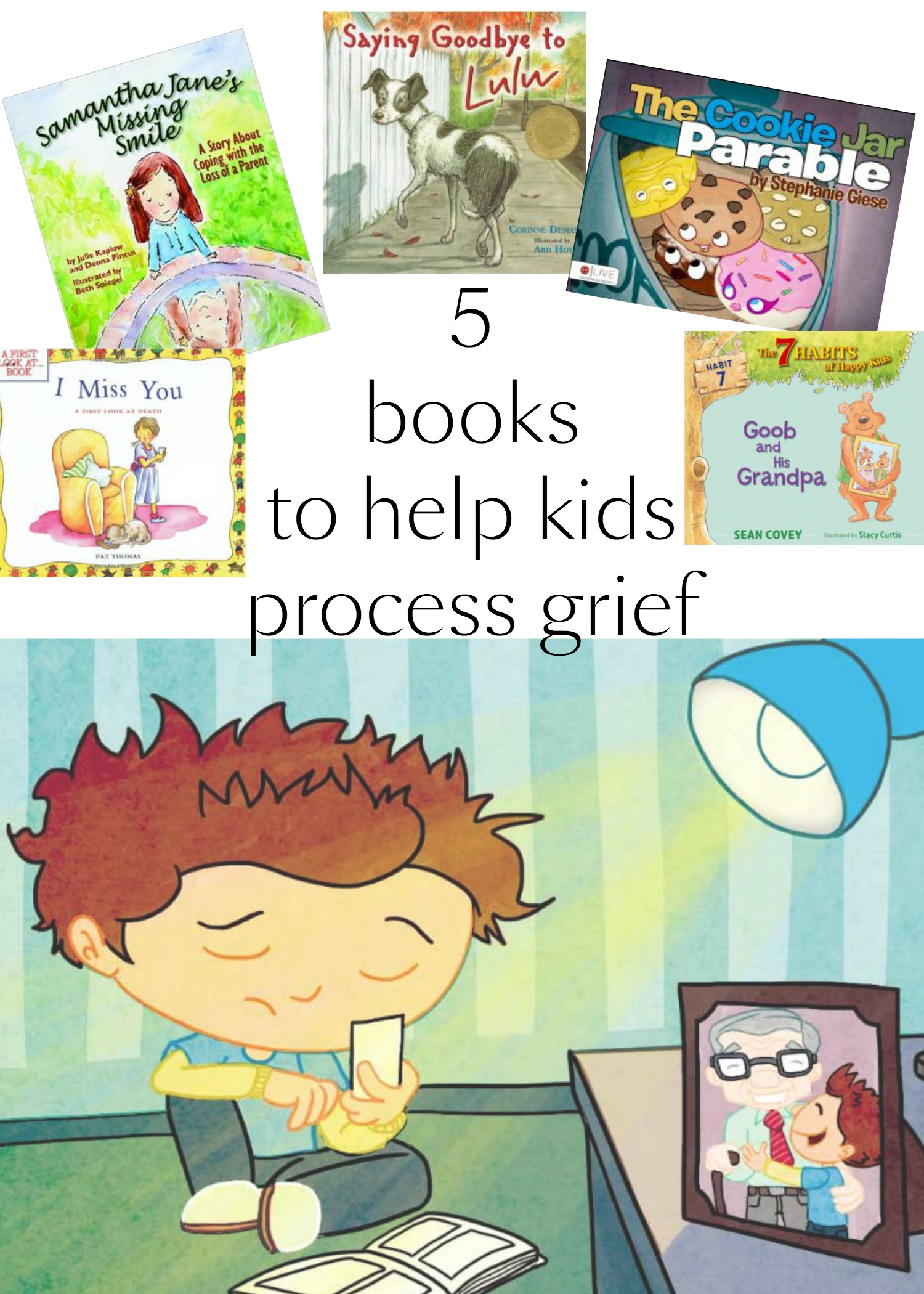 Books To Help Young Kids With Grief Binkies And Briefcases