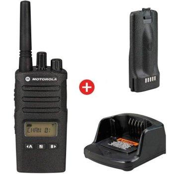 motorola XT460 walkie talkie met batterij en lader