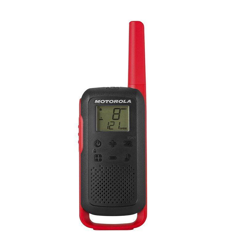 Motorola T62 rood zwart front 1