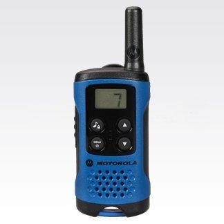 Motorola portofoon licentievrij T41 blauwe front