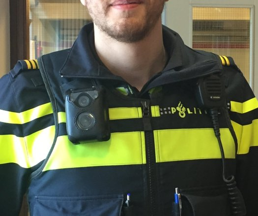 bodycam handhaver