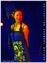 Fashion Show at Café Chaos 6 (Harmony Walker Clothing - 2009) (Image of Celinka Serre)