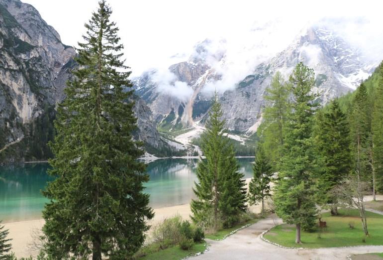 Pragser Wildsee, Hotel mit traumhaften Ausblick