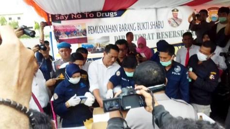Barang Haram Dari Filipina Dimusnahkan Polda Sulsel