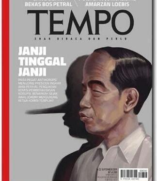 Relawan Jokowi Konsultasi Soal Sampul Pinokio