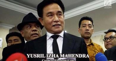 Terkait AD/ART Partai Demokrat Versi SBY-AHY, Yusril Ajukan Judicial Review ke MA