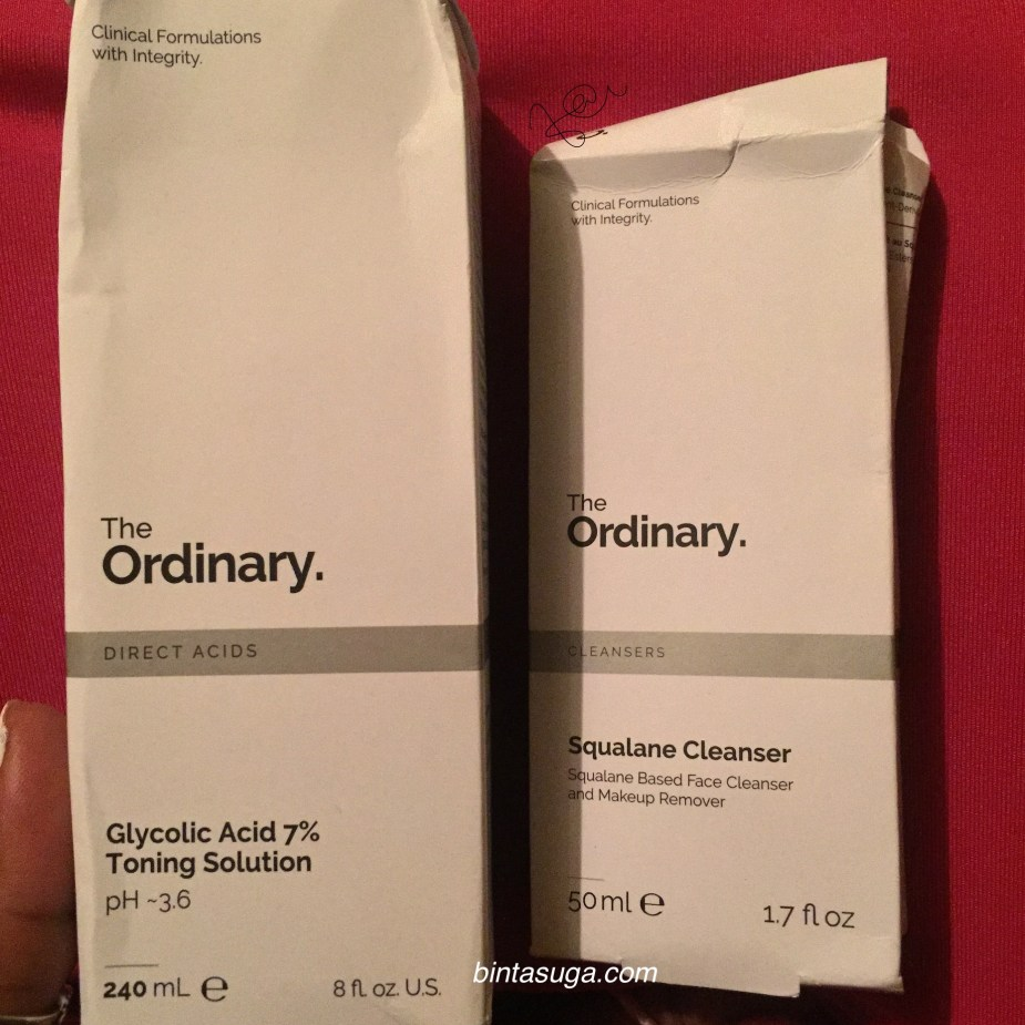 the ordinary packaging