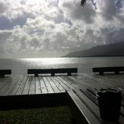 brekky by water in cairns