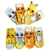 cute-cartoon-anime-pokemon-pikachu-charmander-squirtle-women-s-fashion-cotton-kiss-sock-ankle