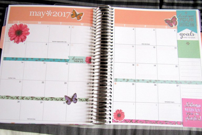 IMG 0467 - Binx Thinx About: The Erin Condren Life Planner