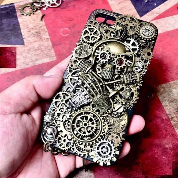 Steampunk Mobile Cell Phone Cases by SethlansArts.
