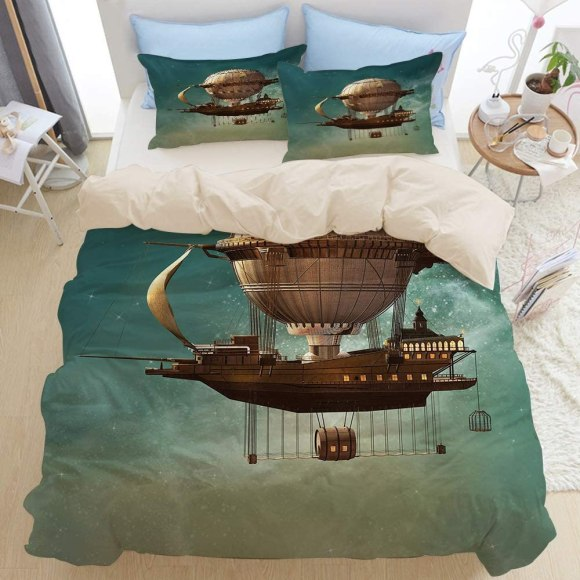 steampunk duvet cover. 2