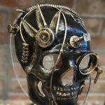 Steampunk Skull Mask,