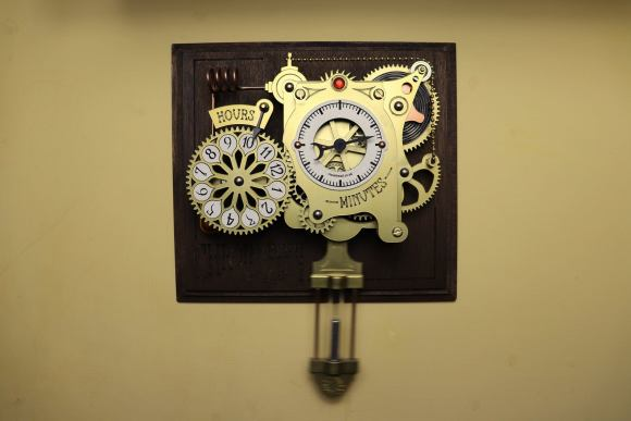 The Chronograph Steampunk Clock.