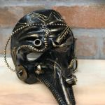Venetian Mask, Captain Steampunk, Handmade in Cartapesta