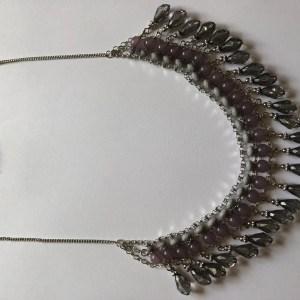 collier en perle style ethnique