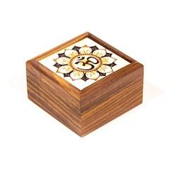 boite à bijoux symbole OM