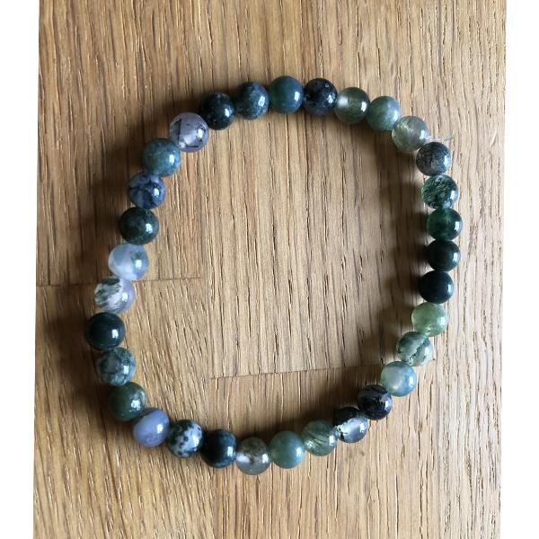 bracelet pierres aventurine verte