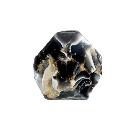 savon gemme onyx noir