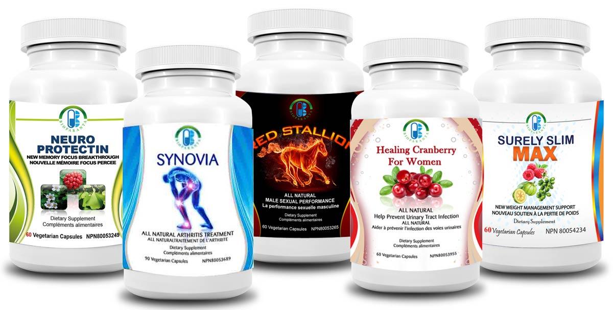 Bioparanta premier Canadian nutritional supplements company based in ottawa